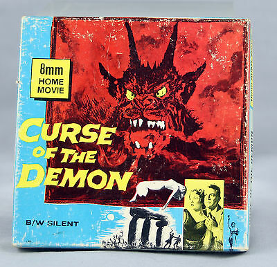 CURSE OF THE DEMON 8 mm BLACK AND WHITE SILENT FILM