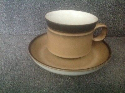 3 Denby Country Cuisine tea cup and saucers