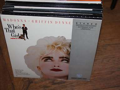 Who's that Girl Laserdisc LD NTSC Extended Play Madonna, Dunne