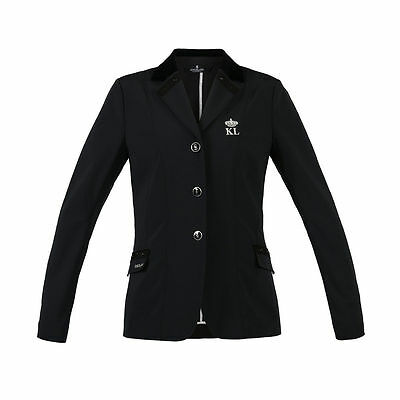 Kingsland Ermelinda Black Show Jumping / Dressage Softshell Jacket Size 40 /UK14