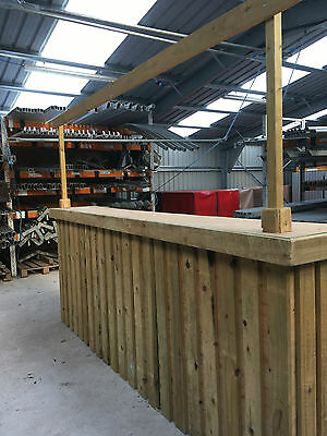Rustic Timber Bar Marquee  / Event Bar / Bar Hire