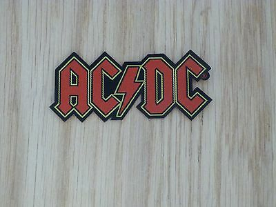 Acdc - Logo (Shaped) (New) Sew On W-Patch Official Band Merch