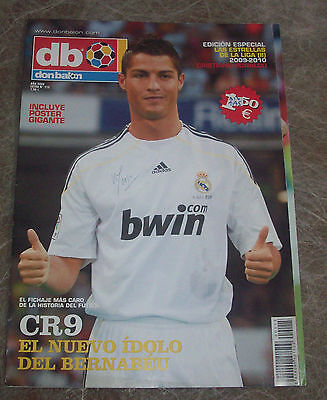 Sports magazine Don Balon Extra nº115(Cristiano Ronaldo)