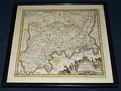 Middlesex County Map by Thomas Kitchin (inc City of London) c.1786 Hand Coloured