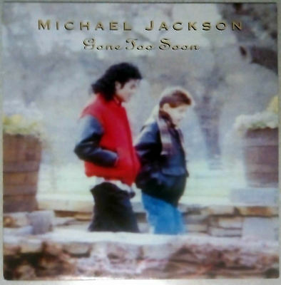 "Michael Jackson ‎– Gone Too Soon 1993, 12"" Viny Record"
