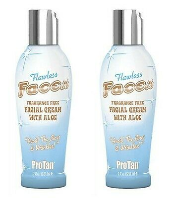 Pro Tan Protan Flawless Faces Tanning Lotion Cream
