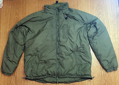 "Latest Army Issue PCS Thermal Jacket - Size 180/100 - LARGE (42-44"" Chest) OLIVE"