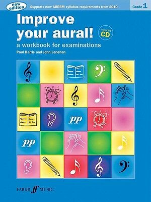 """""""Improve your Aural"""" Grade 1. A workbook for examinations with CD. BRAND NEW !!"""