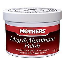 Mothers 05101 Metal Polish 10 Ounce; Mag and Aluminum; FREE SHIPPING!!!