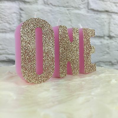 Letter Candles | Cake Decoration | Birthday Candles | Number 1 Candle Smash cake
