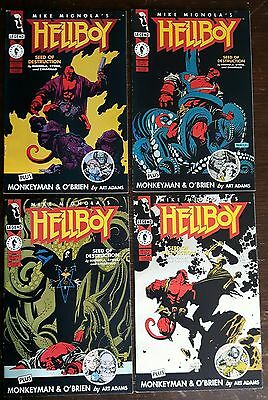 Hellboy Seed of destruction #1-2-3-4