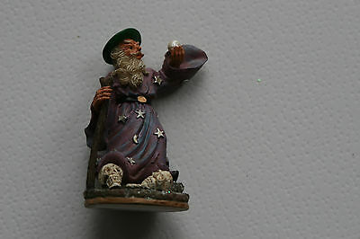 Wizard Figure,  House Of Valentina, Collection. Cake Topper, Decoration *3