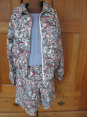 Ladies Cracked Wheat Golf Jacket &  Walking Shorts, Small - Canada - Vintage??