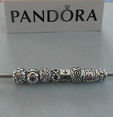Genuine Pandora 925 ALE Retired Discontinued Charms x 8