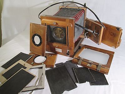 FKD 13x18cm soviet wooden large format camera