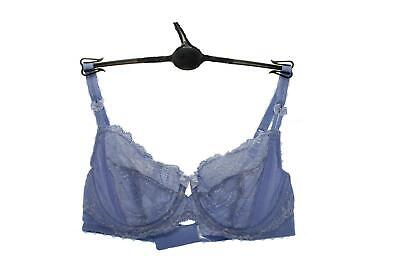 M/&S Adored Full Cup T-Shirt Bra Grey With French Designed Lace 32-42 A-E