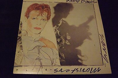 DAVID BOWIE Vinyl LP SCARY MONSTERS (AQL1-3647)