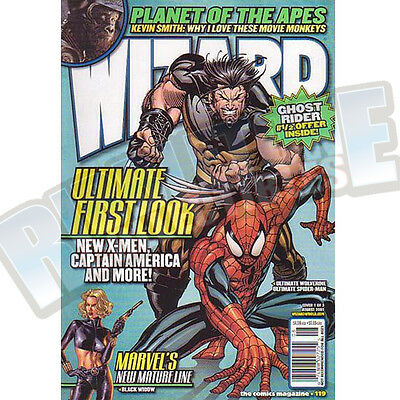 Wizard The Comic Magazine #119 Vf
