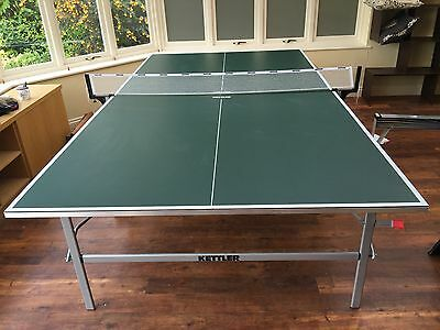 Kettler Pro Table Tennis Table