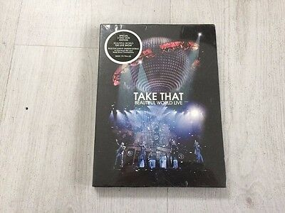 Take That  Beautiful World Live (DVD, 2008, 2-Disc Set) REGION FREE NEW & SEALED