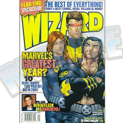Wizard The Comic Magazine #124 Vf
