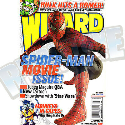 Wizard The Comic Magazine #128 Vf