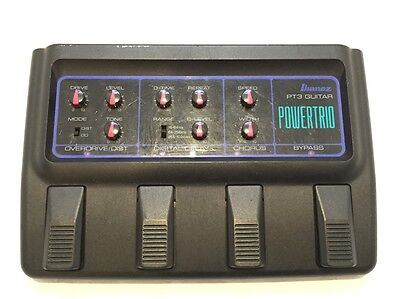 VINTAGE & RARE c1980s Ibanez PT3 PowerTrio Guitar Multi Effects Pedal MIJ TS9!!!