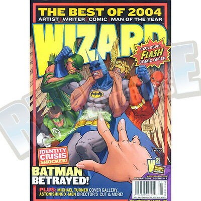 Wizard The Comic Magazine #159 Vf Cover B