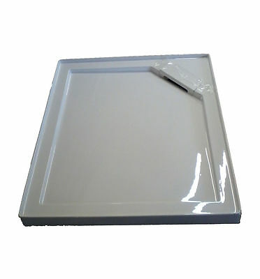 Manhattan Rectangular Shower tray with concealed waste 1200 x 900 with riser kit
