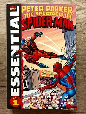 Marvel Essential PETER PARKER: THE SPECTACULAR SPIDER-MAN Vol.1 US TPB Rare OOP