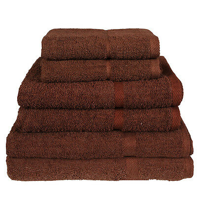 SALON HAND TOWELS IN BROWN,   SIZE IS  102cm x 52cm   LOVELY LARGE SIZE