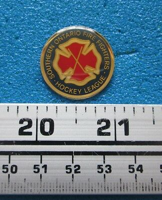 SOUTHERN ONTARIO HOCKEY FIREFIGHTING FIRE FIREMAN POMPIER INCENDIE PIN # po-107