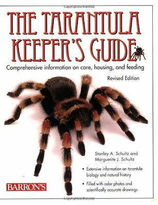 Tarantula Keeper's Guide Book by Schultz Stanley A. Paperback