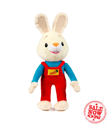 BabyFirstTV Harry the Bunny Soft Plush Toy Baby Shower Gifts Toys