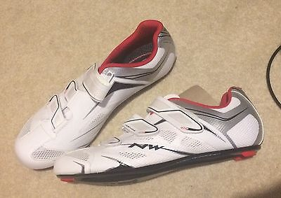 Northwave BNIB Road Cycle Shoes 44 U.K. 10 White