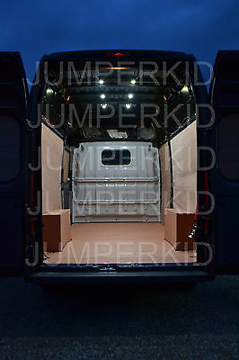 Van Lighting Kit Upgrade Internal Loading Bay Light LED Univeral Fit 12V