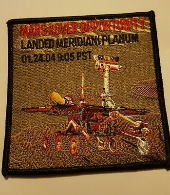 Mars Rover International Space Station Shuttle Mission Patch NASA
