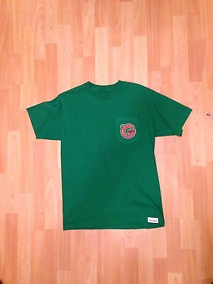 Grizzly Griptape T-Shirt Small Logo Size M