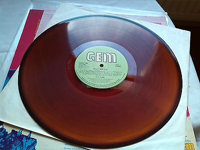 Uk Subs Brand New Age Vg 1980 Unique Clearbrown Vinyl Punk Damned Gbh 999 Ruts