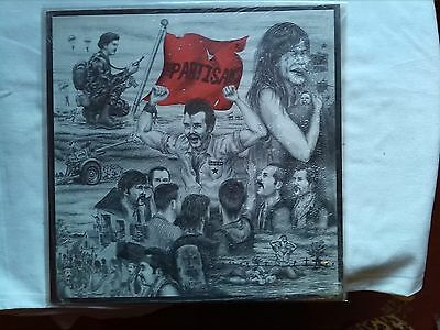 THE PARTISANS TIME WAS RIGHT ORIG 1984 EX+ PUNK SEX PISTOLS UK SUBS BLITZ GBH Oi