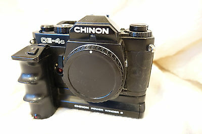Chinon CE-4S camera With upgraded grip.