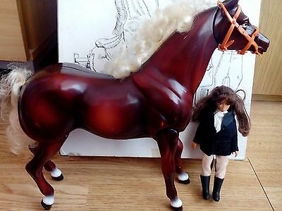 1991 John Crane Horse And Doll Toy