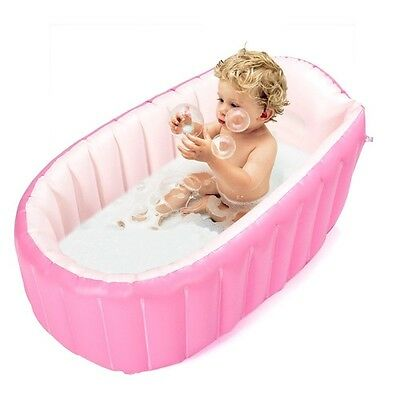 Inflatable Baby Bathtub Portable Mini Air Swimming Pool Kid Infant Toddler