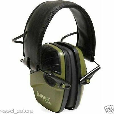 NEW Howard Leight R-01526 Impact Sport Electronic Earmuff, Free Ship From CANADA