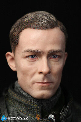 did action figure German Tanker commander 1/6 12'' boxed hot toy ww11 dragon