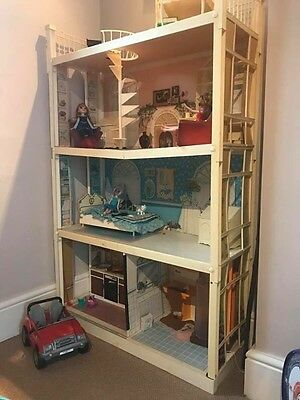 1970's Sindy House With Original Box And Instructions
