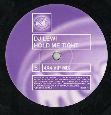 "DJ Lewi ‎– Hold Me Tight & Blue Funk BIG TUNE DJ EZ 12"" Vinyl UK Garage"