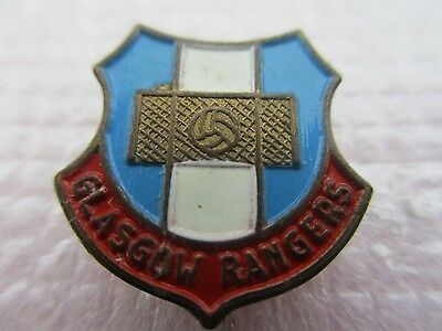 Old & Unusual..glasgow Rangers Football Club..blue White & Red..stick Pin Badge