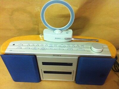 Sony Vertical Cd Player Stereo System Zs-2000 Personal Audio System