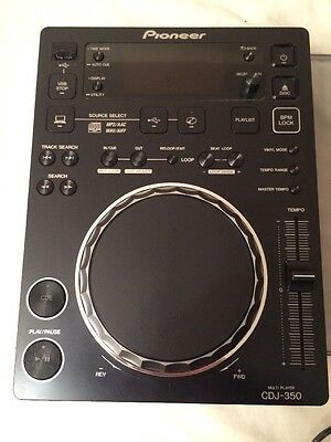 Pioneer CDJ 350 Multi Player CD/USB /w Deck Saver Cover VGC Clean & Tested